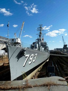 USS Cassin Young at the Charlestown Navy Yard
