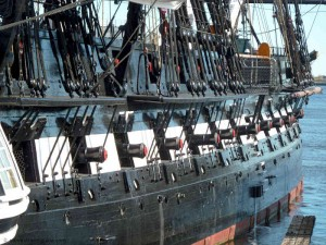 Old Ironsides at the Charlestown Navy Yard