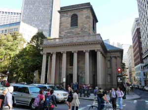 King's Chapel - Freedom Trail Stop 5 - 1754
