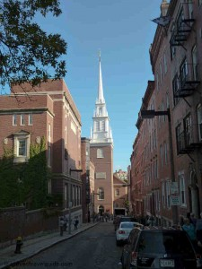 Old North Church - Freedom Trail Stop 13 - 1723