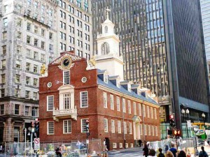 Old State House - Freedom Trail Stop 9 - 1711