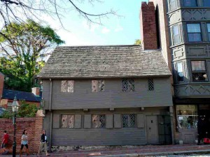 Paul Revere House - Fredom Trail Stop 12 - 1680