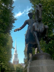 Cyrus Dallin's Paul Revere Statue in the North End