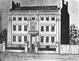 Foster Hutchinson House on Garden Court Street in the North End