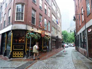 Green Dragon Tavern Boston on Historic Marshall Street