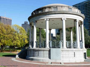 Parkman Bandstand in Boston Common
