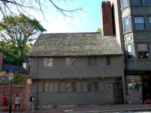 Paul Revere House in North Square