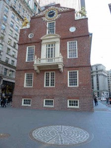 Boston Massacre Site by the Old State House
