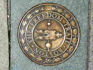 Freedom Trail Logo Boston