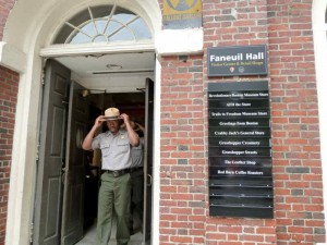 National Park Service Visitor Center at Faneuil Hall