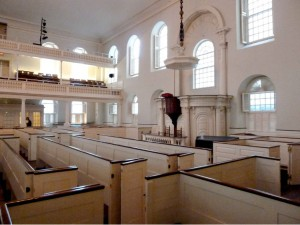 Old South Pews & Pulpit