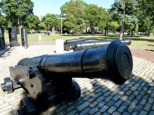 British Cannon on Cambridge Common