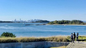 View from Georges Island Artillery Observation Tower