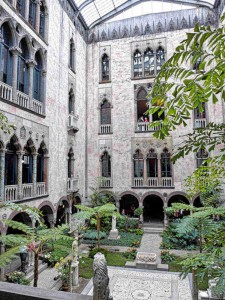 Courtyard at the Gardner Museum