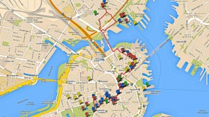 Freedom Trail Google Map Enhanced